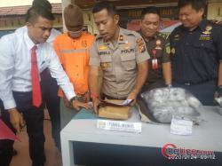 Disaksikan Berbagai Pihak Polres Bengkalis Musnahkan BB Narkoba