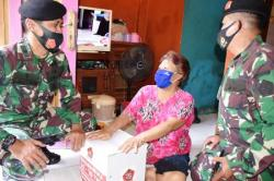 Baksos HUT ke-75 TNI Disalurkan Pada Masyarakat Cirebon dan Tasikmalaya