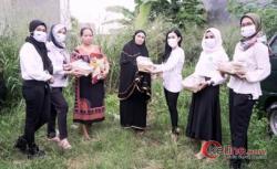 Ribuan Petani Terdampak Covid-19 Dapat Sembako Perempuan Tani HKTI