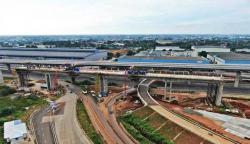 Lebih 500 Jenis Alat Berat SANY Gesa Proyek KA Cepat Jakarta-Bandung