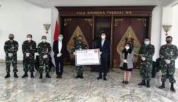 PT Thales Indonesia Salurkan Ribuan APD ke Kemhan RI