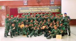 Pendidikan 59 Perwira Siswa Dikpater TA 2020 Ditutup