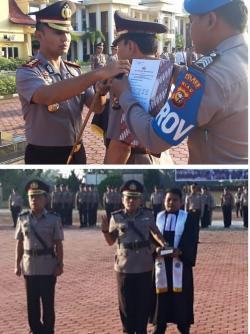 Kapolres Rohil Pimpin Sertijab Kapolsek Bagan Sinembah