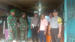 Ajak Ciptakan Rasa Aman, Polsek Tanah Putih Gelar Patroli Gabungan Bersama TNI