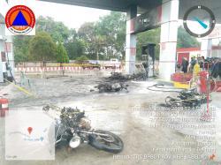 Melayani Pengerit BBM Bersubsidi, SPBU 243.311.27 Kace Terbakar