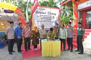 Kantor Kas Bank Riau Kepri Kuala Kampar Pelalawan Resmi Beroperasi