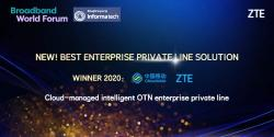 "ZTE dan China Mobile Raih ""Best Enterprise Private Line Solution Award"""