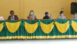 Dinas Sosial Bengkalis Salurkan Bantuan Sembako Untuk Lansia