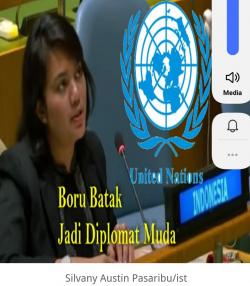 Boru Batak ini Jadi Diplomat Muda Indonesia di Sidang PBB