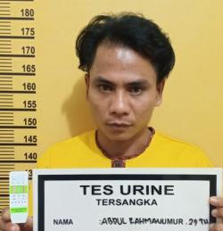 Saat MauTransaksi, Seorang Pria Pengedar Sabu Berhasil di Ciduk Polsek Bangko