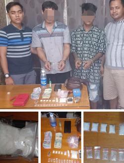 Polsek Kubu Berhasil Ungkap 45,3 Gram Sabu Sabu dari 2 Orang Nelayan
