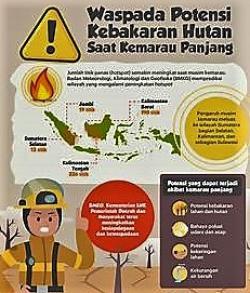 BMKG, 55 hotspot Terpantau di Riau