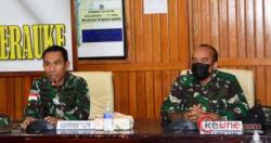 Tim Pusjarah TNI Kunjungi Markas Korem 174/ATW Merauke