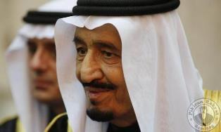 Ribuan Siswa Bandung Kedatangan Sambut Raja Arab