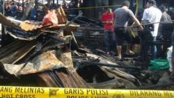 Pasar Bawah Bukittinggi Kebakaran, Hanguskan Ratusan Kios