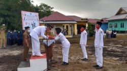 Ditengah Pandemi Covid-19 Desa Bantan Tua Peringati HUT RI Ke-75 Tahun Secara Sederhana