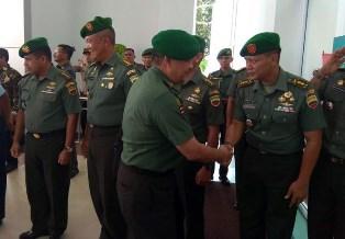 Brigjen TNI Edy Nasution Disambut di VIP Lancang Kuning