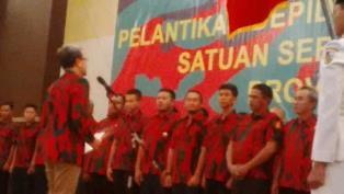 Baladhika Karya Kepemimpinan Syafrianto Resmi Dilantik