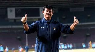 Indra Komitmen  Membantu Luis Milla dalam Membentuk Timnas Indonesia U-22.