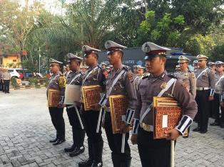 5 Anggota Satlantas Polres Serang Kota Mendapatkan Penghargaan