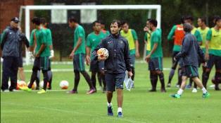 Mengintip Latihan Pertama Timnas Indonesia U-22