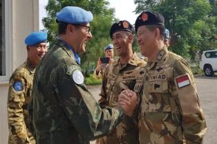 Penasehat Militer RI untuk PBB Sebut Kontingen Garuda Indonesia Terbesar di Unifil - Lebanon